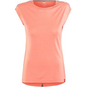 Millet W's Cloud Peak Short Sleeve Shirt peach